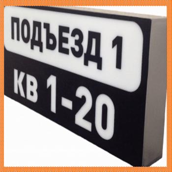 Светодиодный номер подъезда-300x261